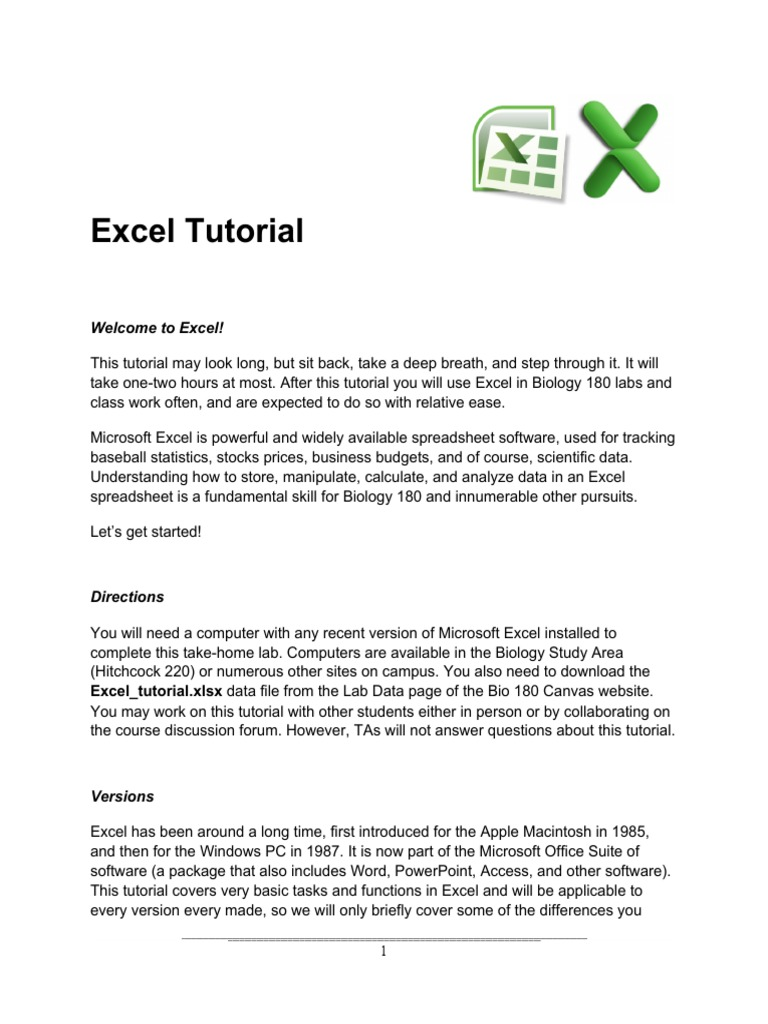 tutorials what is a spreadsheet used for