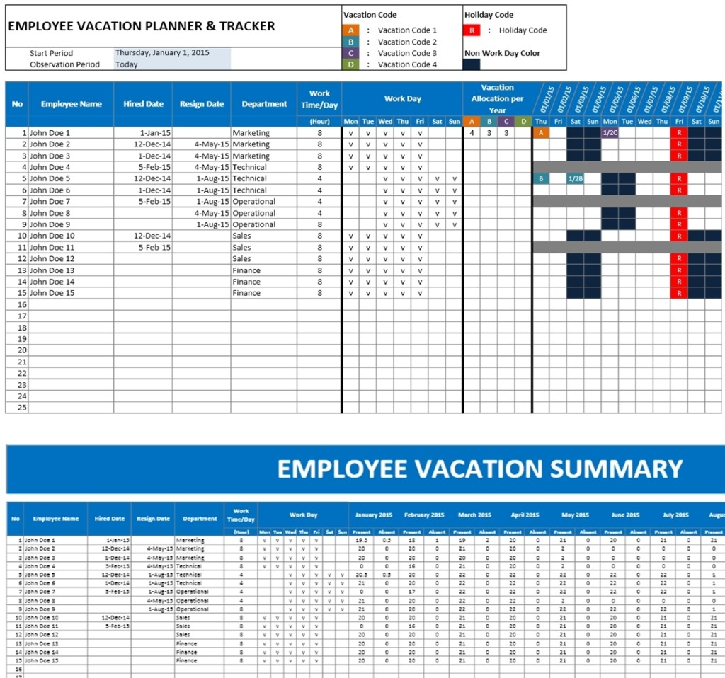 vacation accrual calculator online