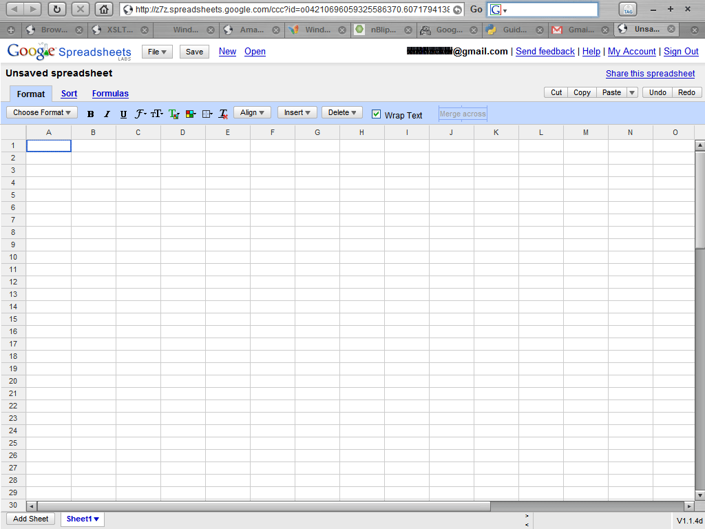 what is google spreadsheet key