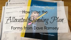 Dave Ramsey Allocated Spending Plan Excel Spreadsheet_16