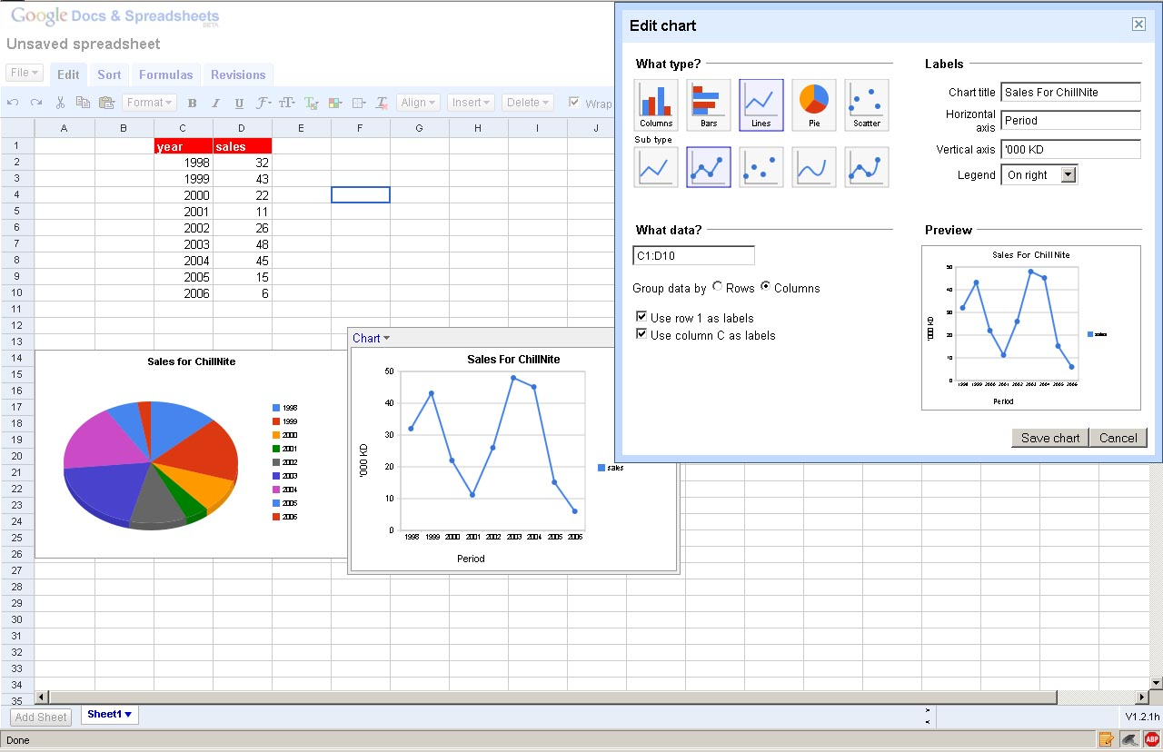 Different Types Of Spreadsheet Software free download