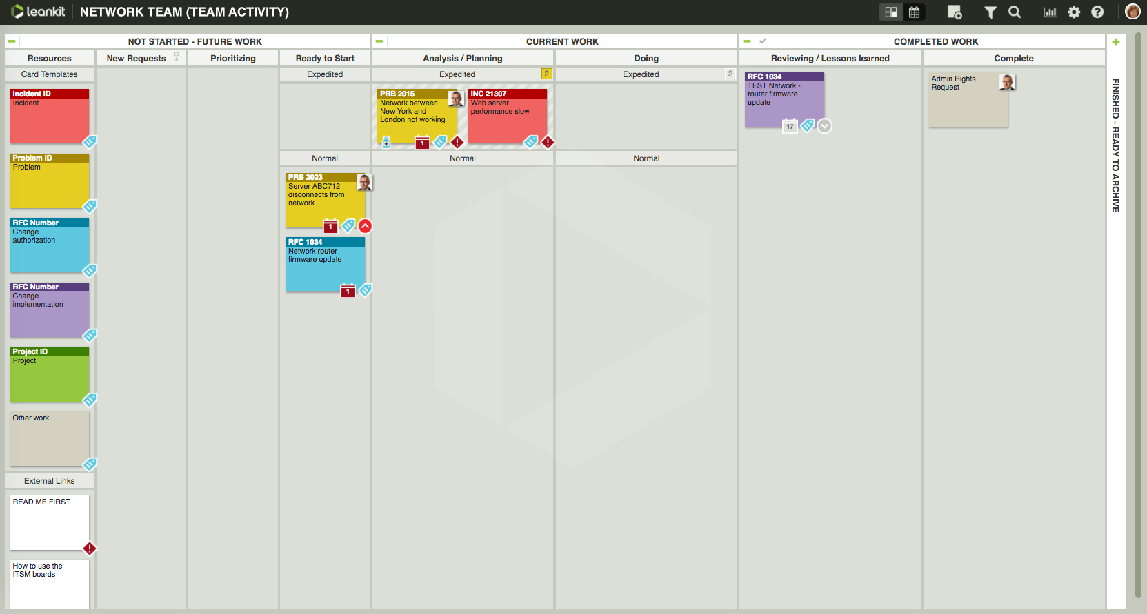 Download Free Kanban Spreadsheet Template