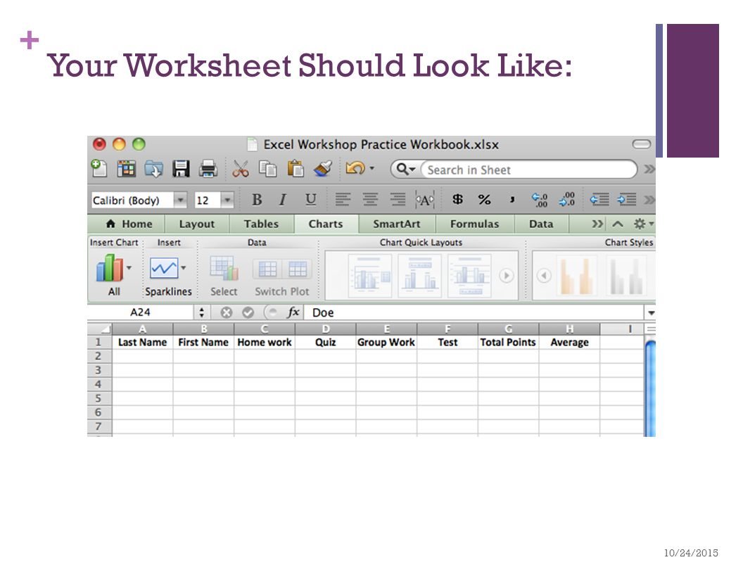 Free spreadsheet formulas start with