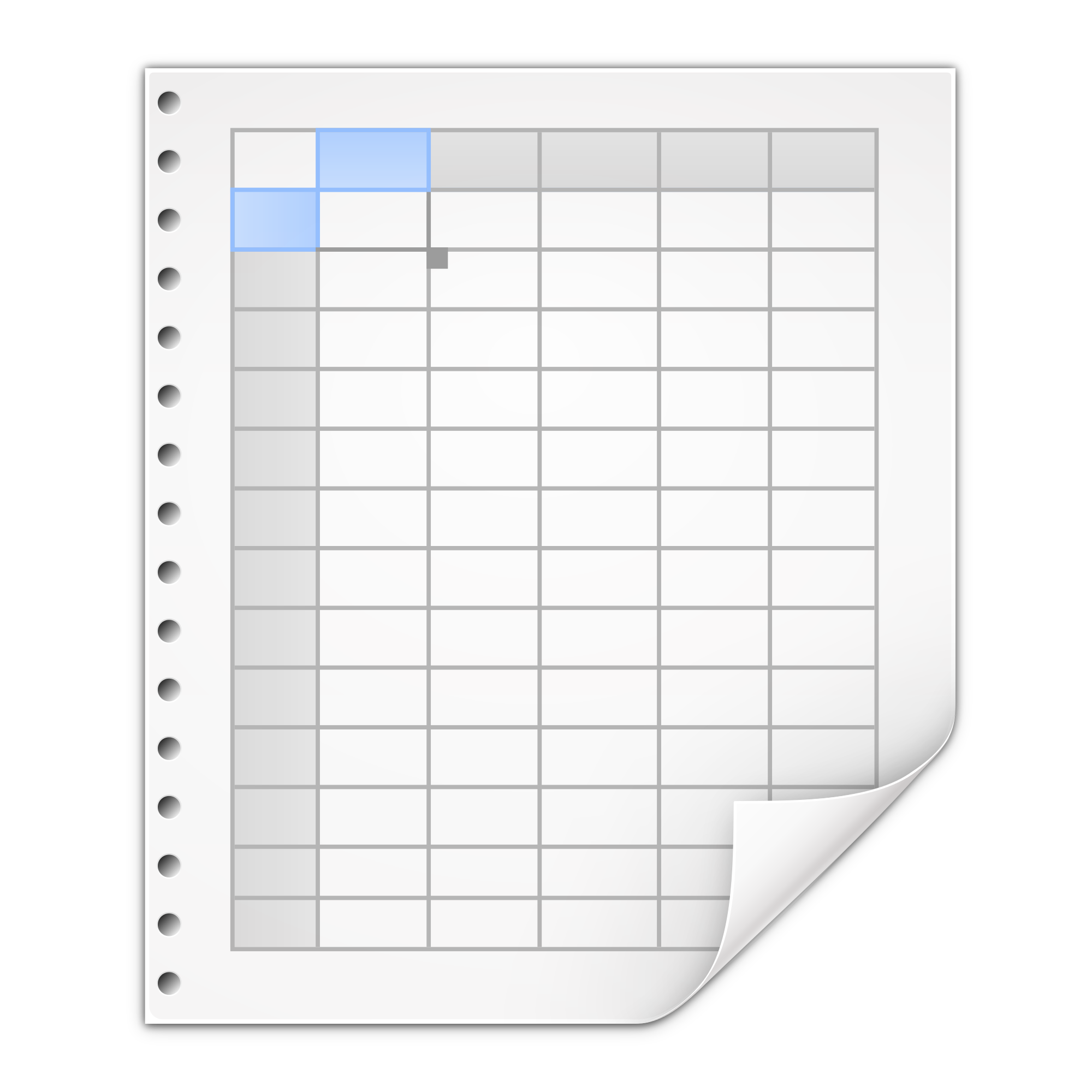 Google Spreadsheet Icon Free