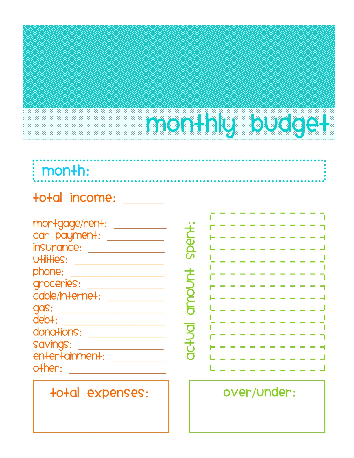 How To Make A Spreadsheet For Monthly Bills_43