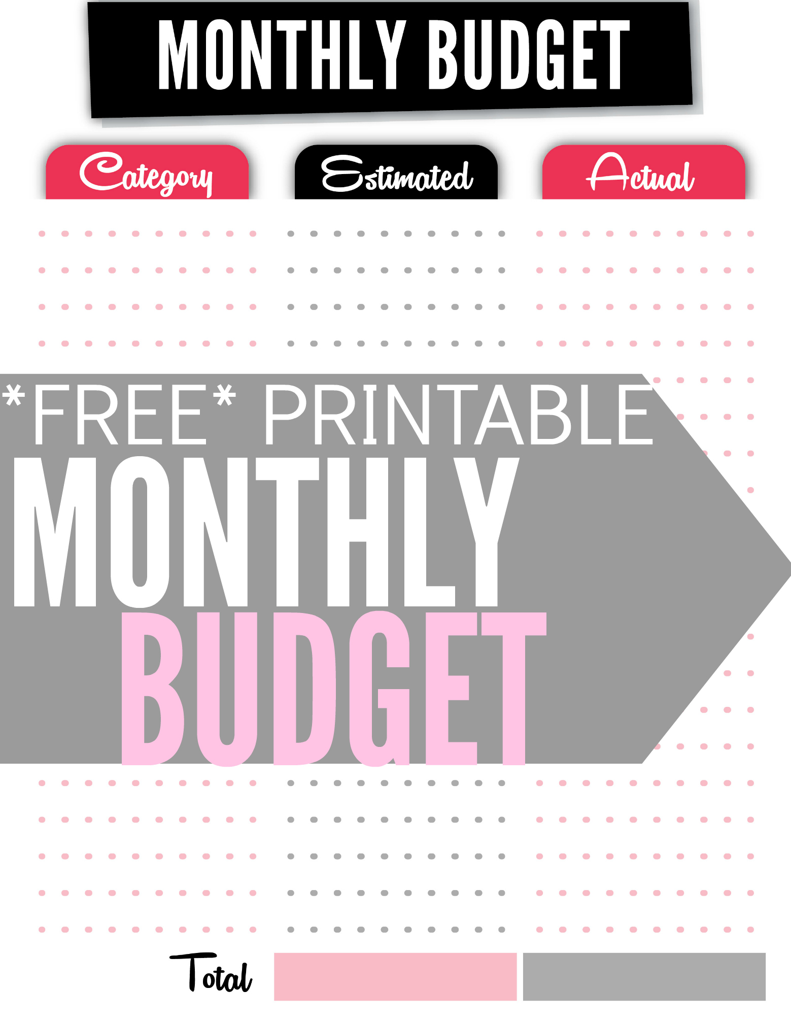 How To Set Up A Monthly Budget templates spreadsheet