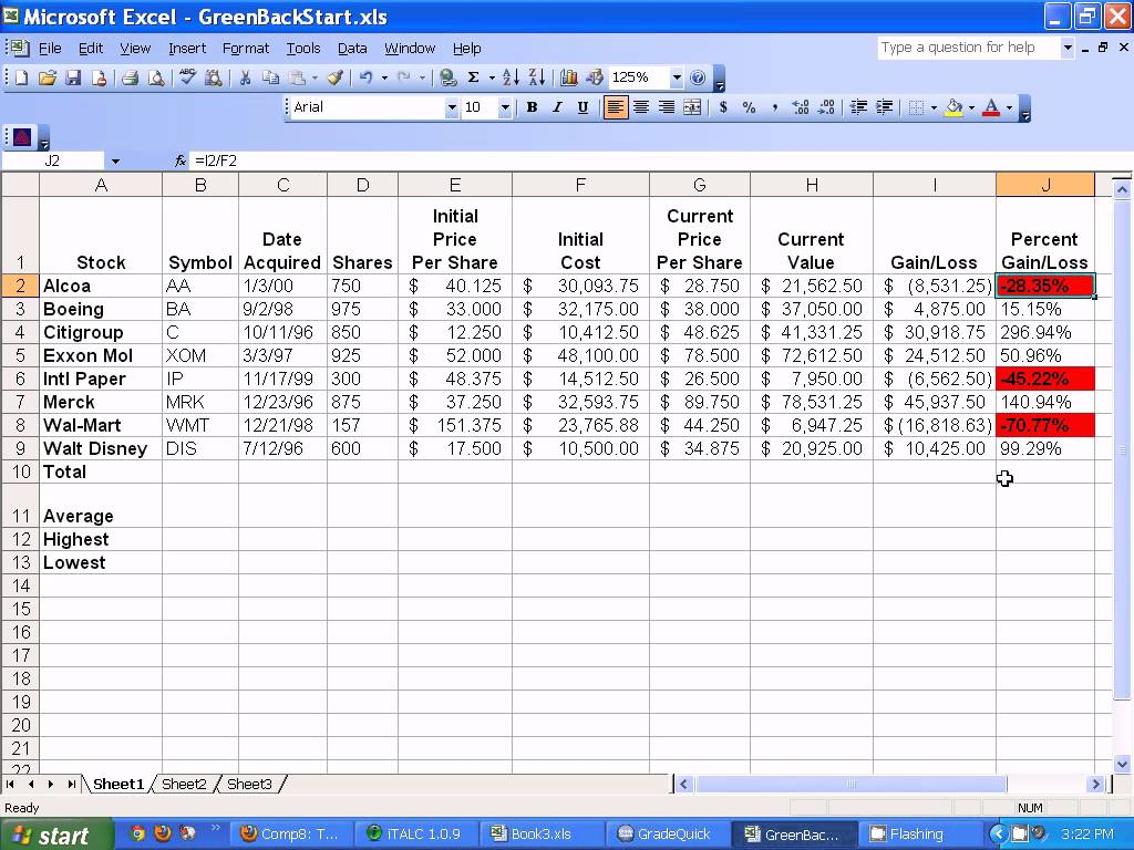 Share Excel Spreadsheet