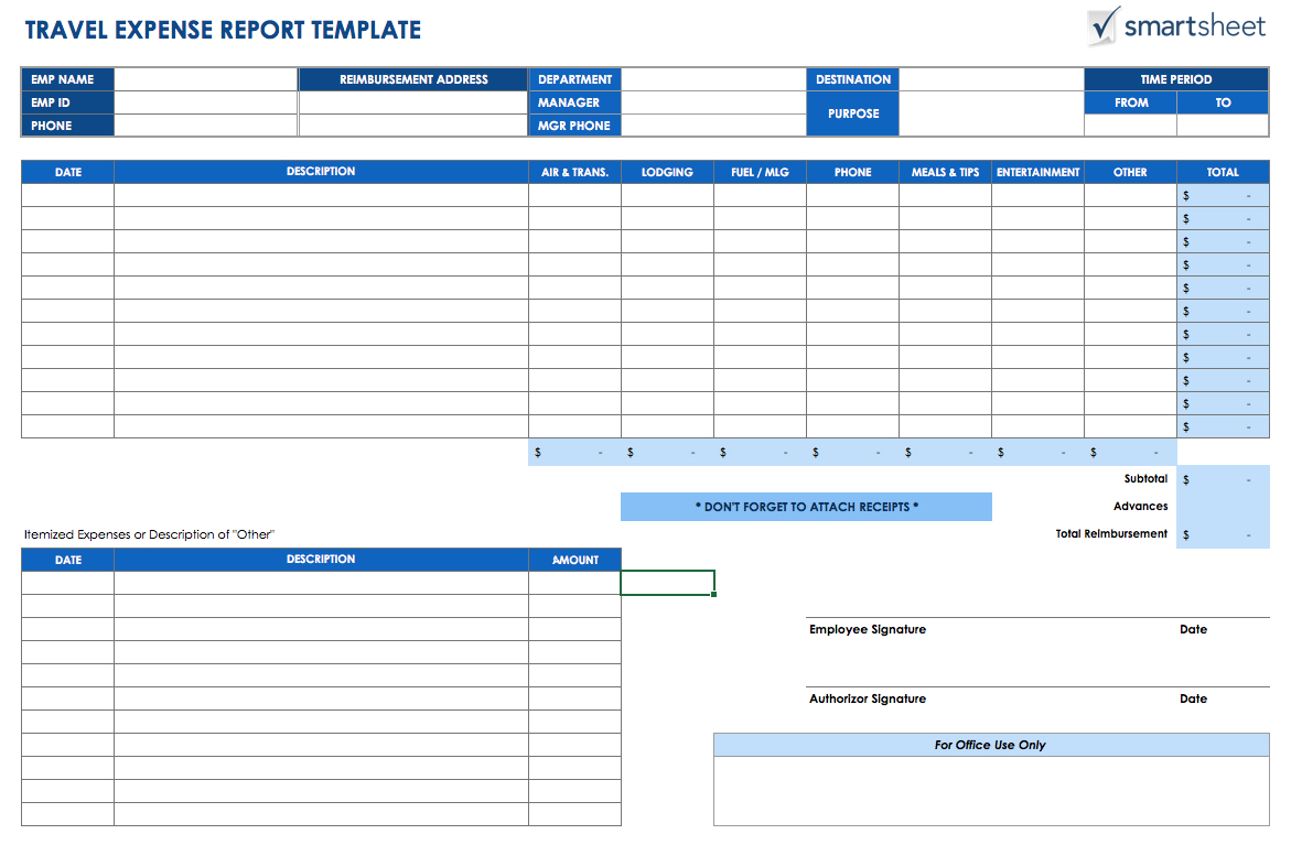 Templates Free Keeping Track Of Expenses Spreadsheet