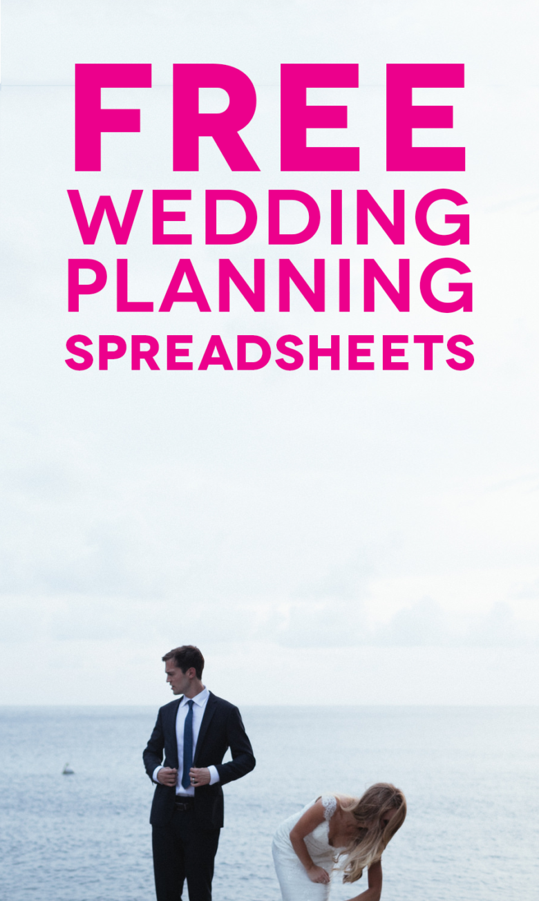 Wedding Checklist Spreadsheet
