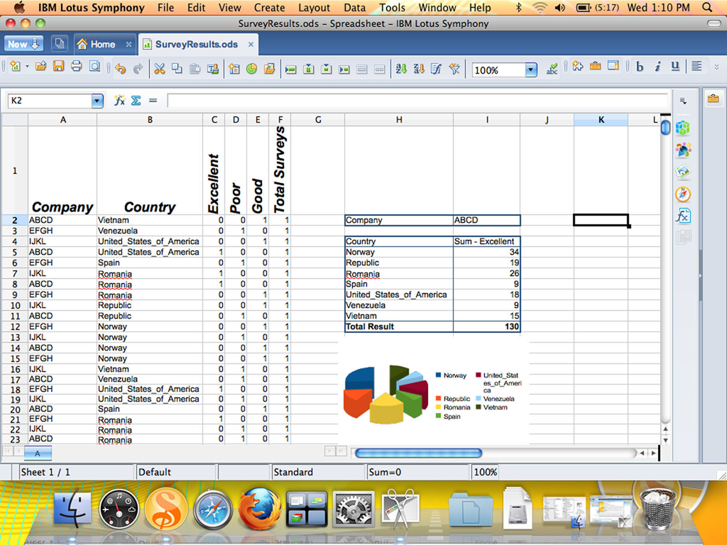 apple mac spreadsheet program