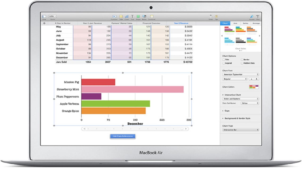 apple mac spreadsheet software download