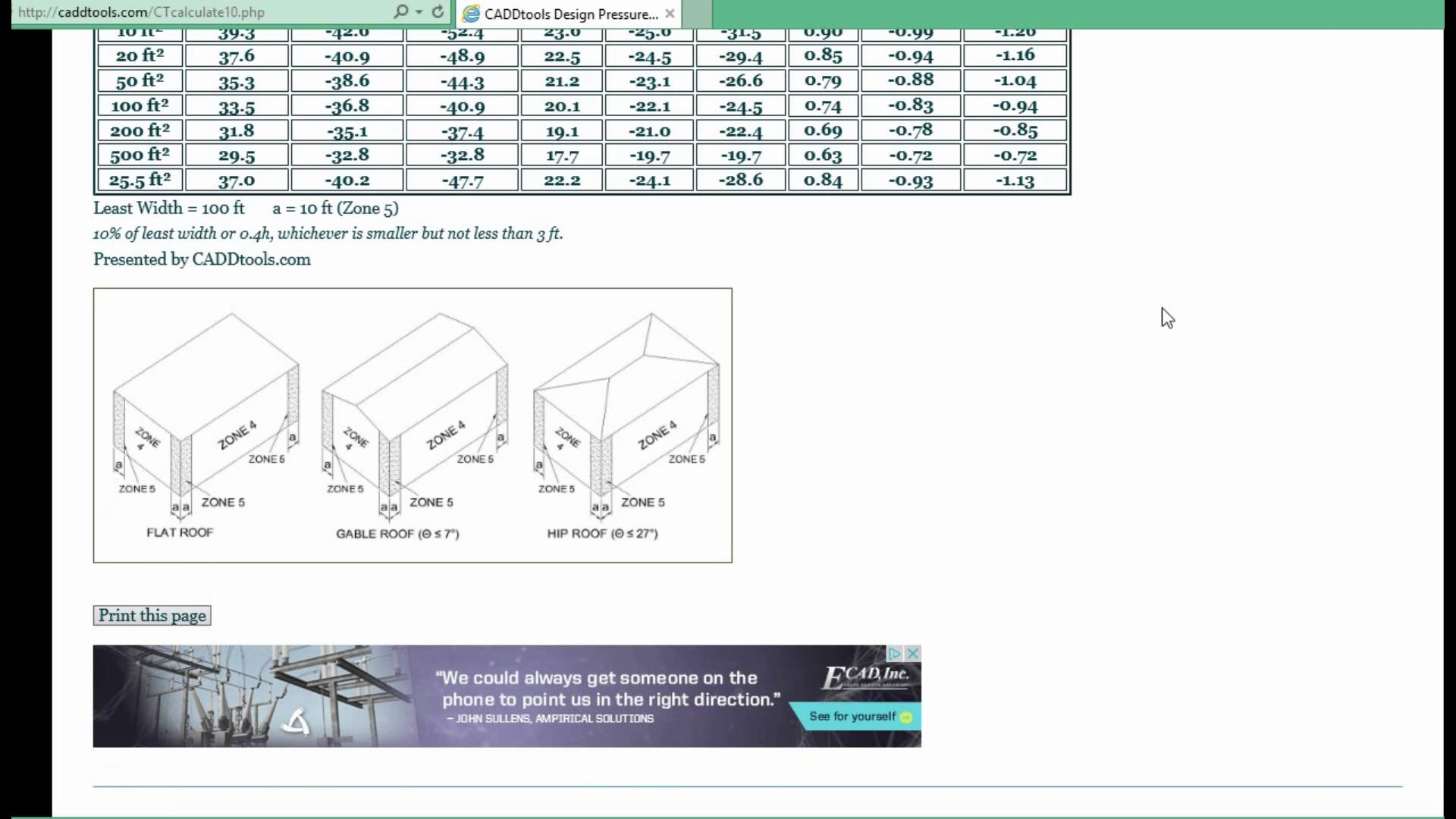 asce 7-10 wind load calculator free
