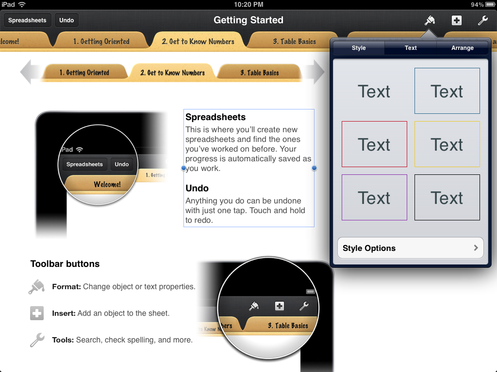 best free spreadsheet app for iphone