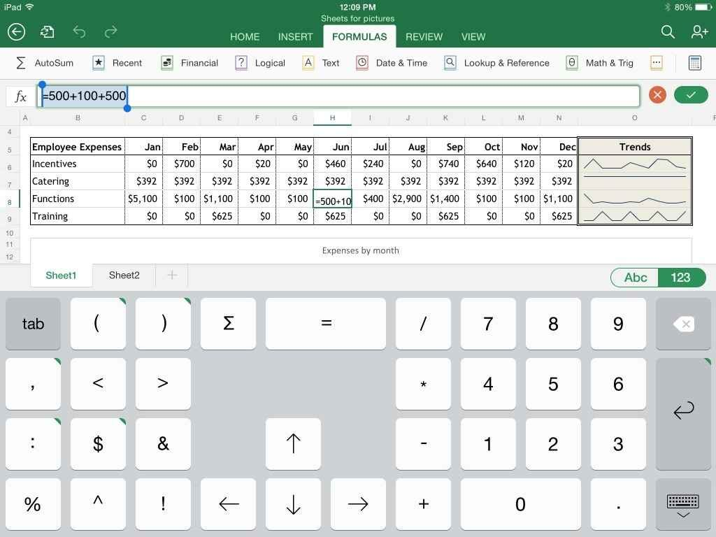 bill spreadsheet app free download