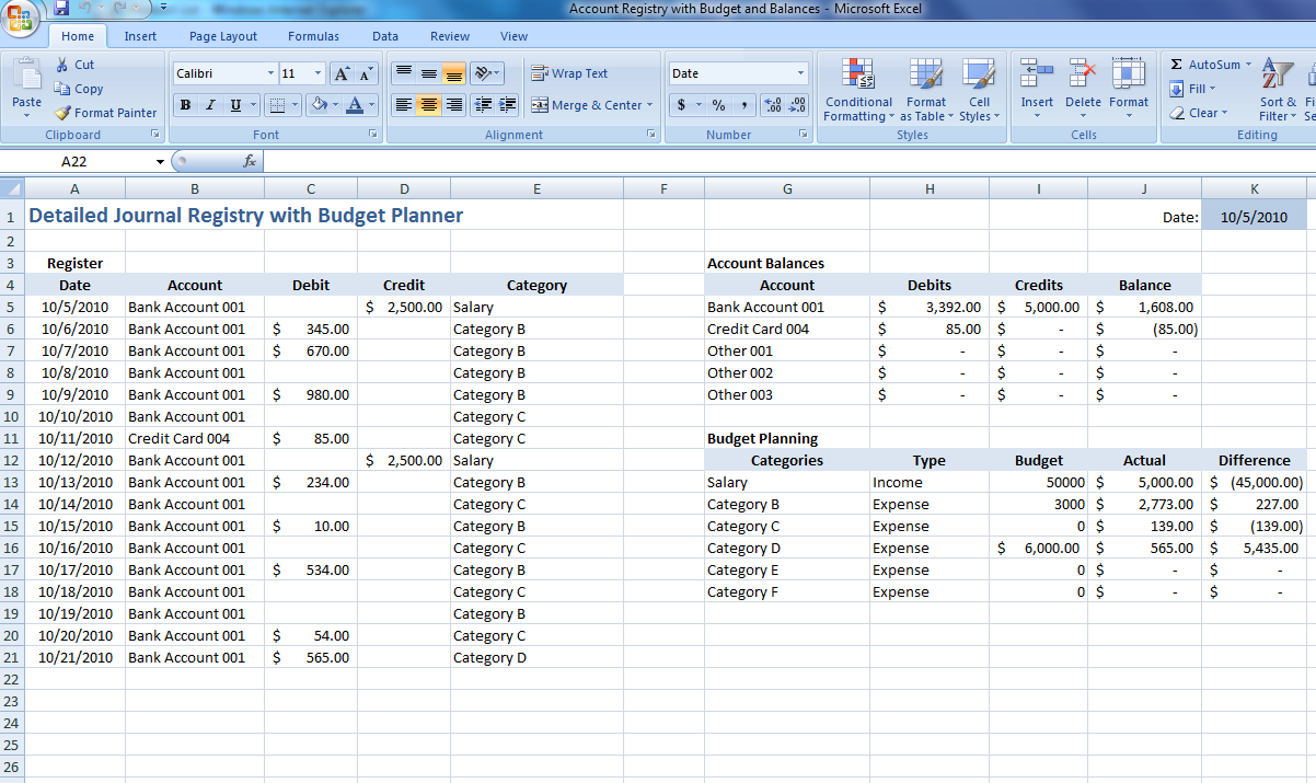 business expenses spreadsheet