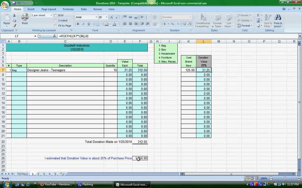 church tithe and offering spreadsheet free templates