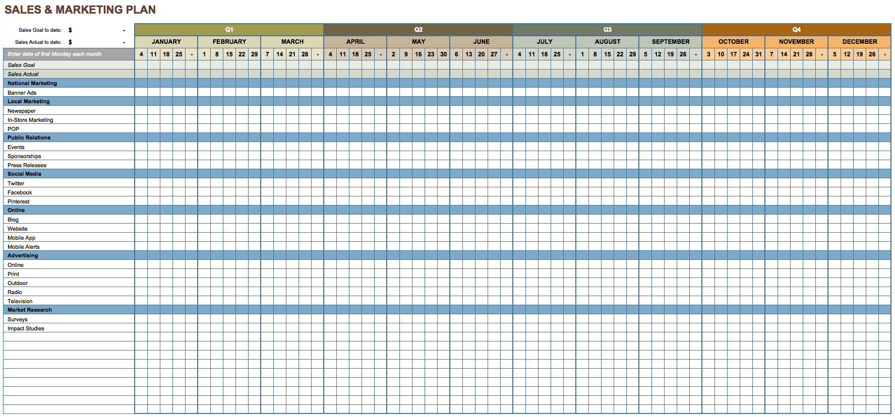 cold call log sheet