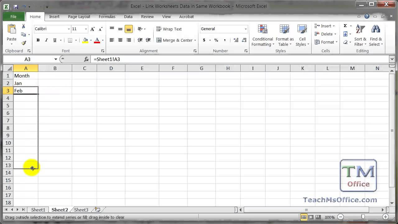 combine multiple excel sheets into one sheet 2010
