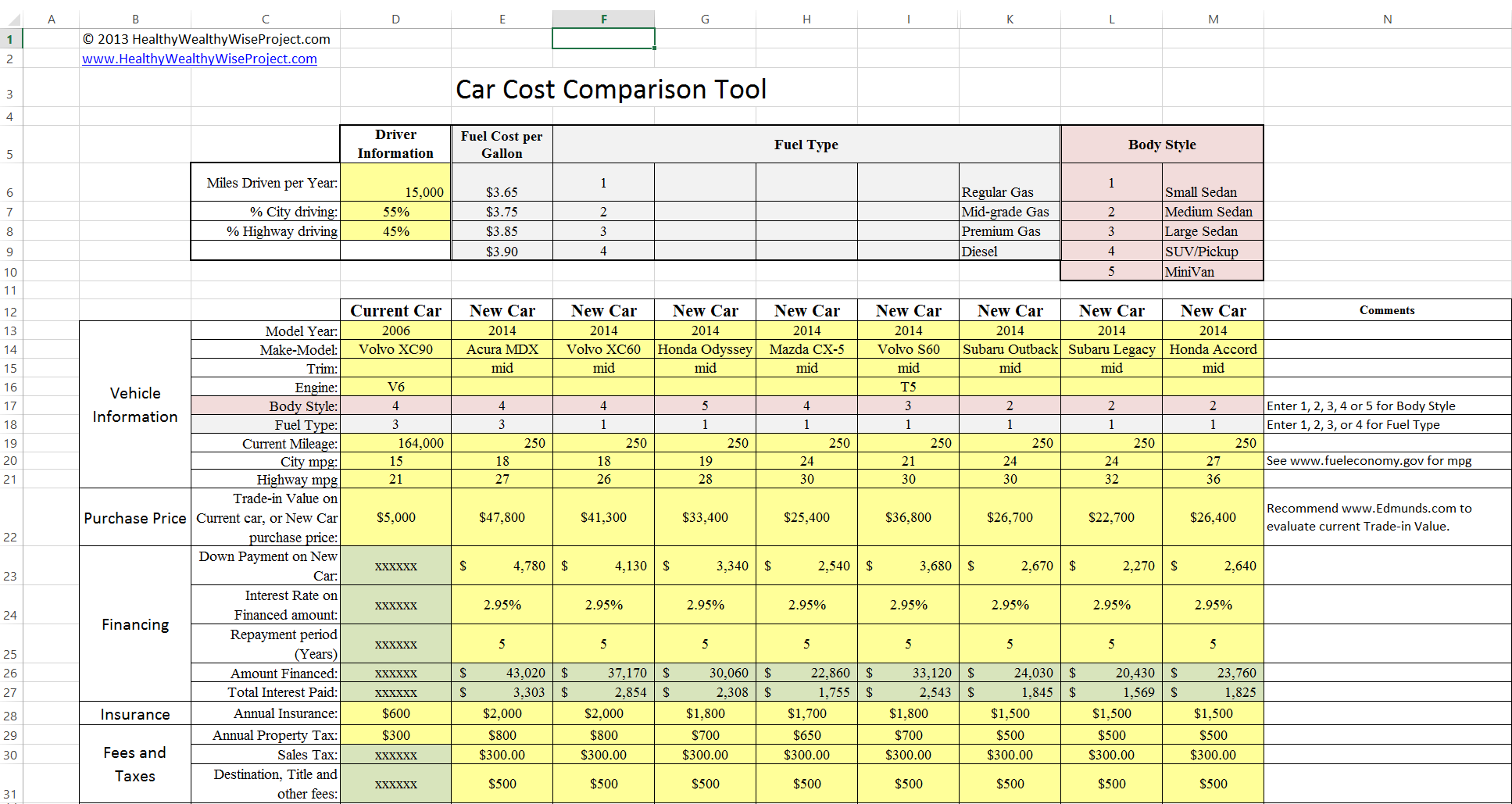 compare 2 excel files for differences