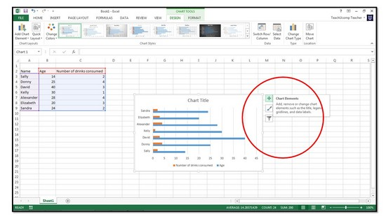 create a spreadsheet in excel 2013