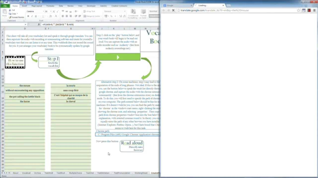 download excel spreadsheet vocabulary words