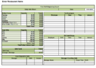 download food storage spreadsheet