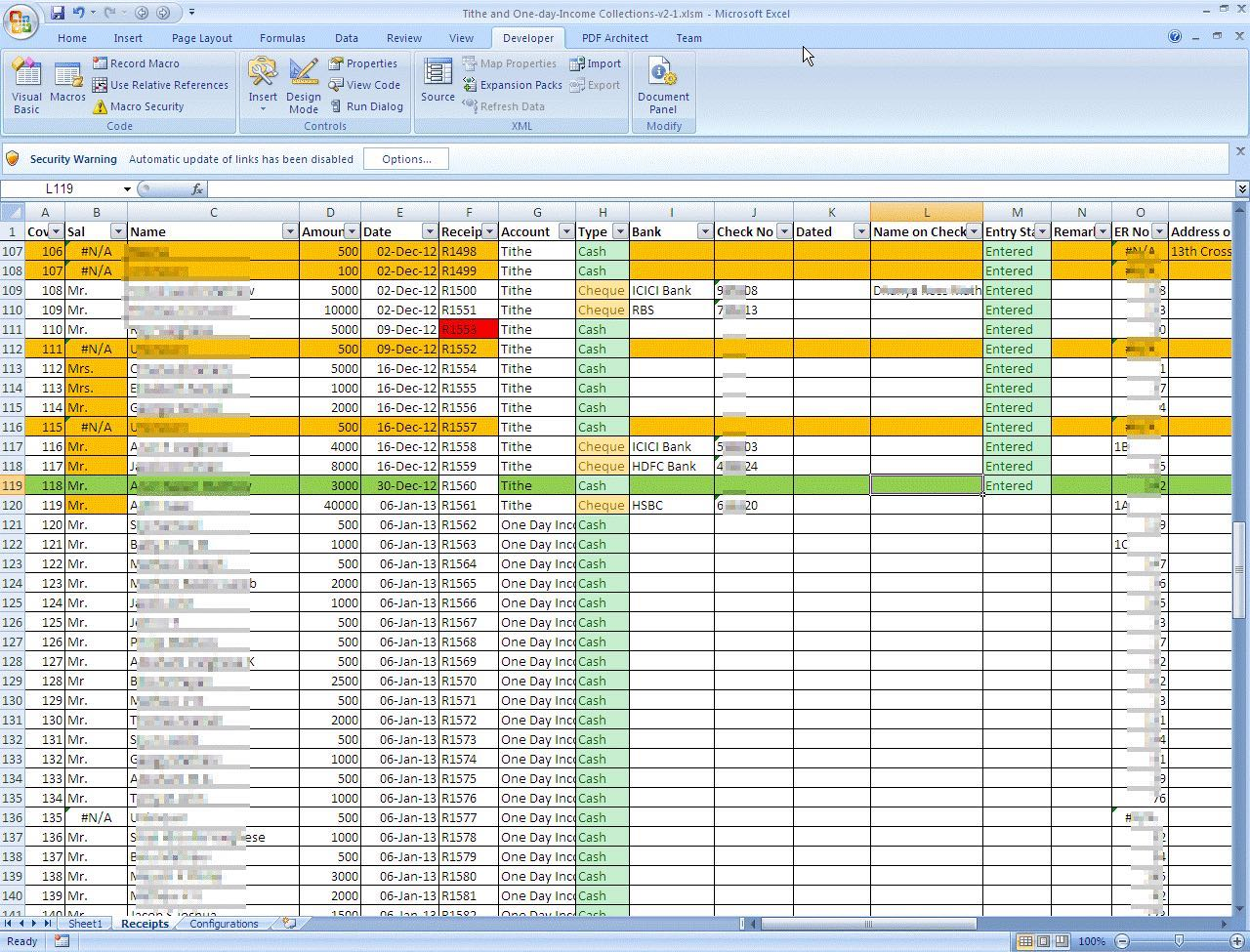 download free church tithe and offering spreadsheet