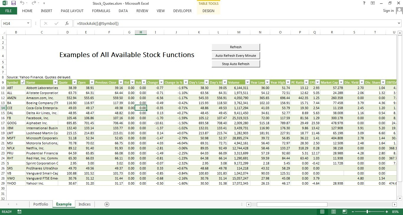 download investment spreadsheet excel