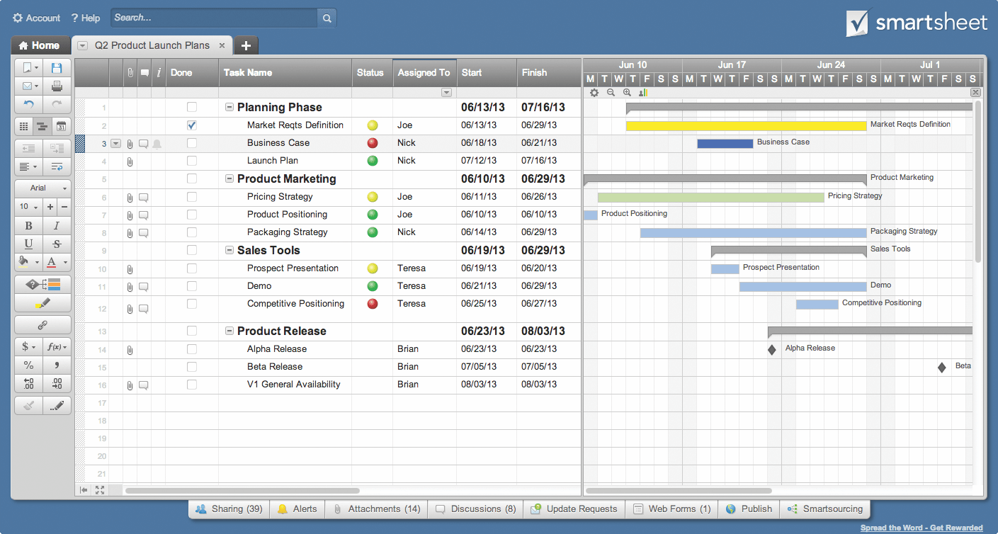 download keeping track of projects spreadsheet free