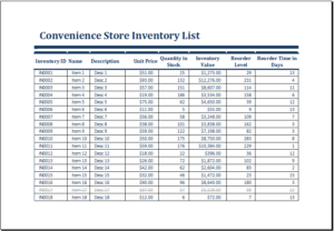 download liquor inventory control spreadsheet