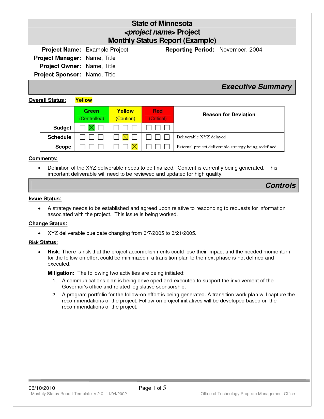 download project management excel template
