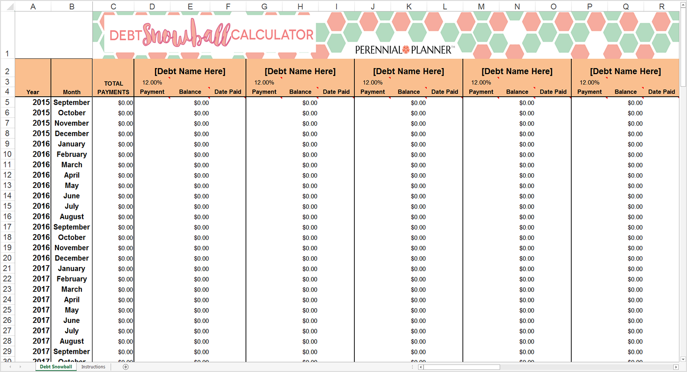 download snowball credit card payoff spreadsheet