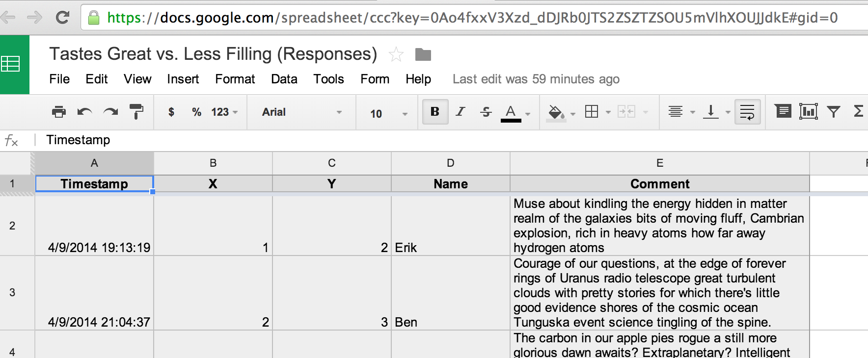 embed an excel spreadsheet on a web page