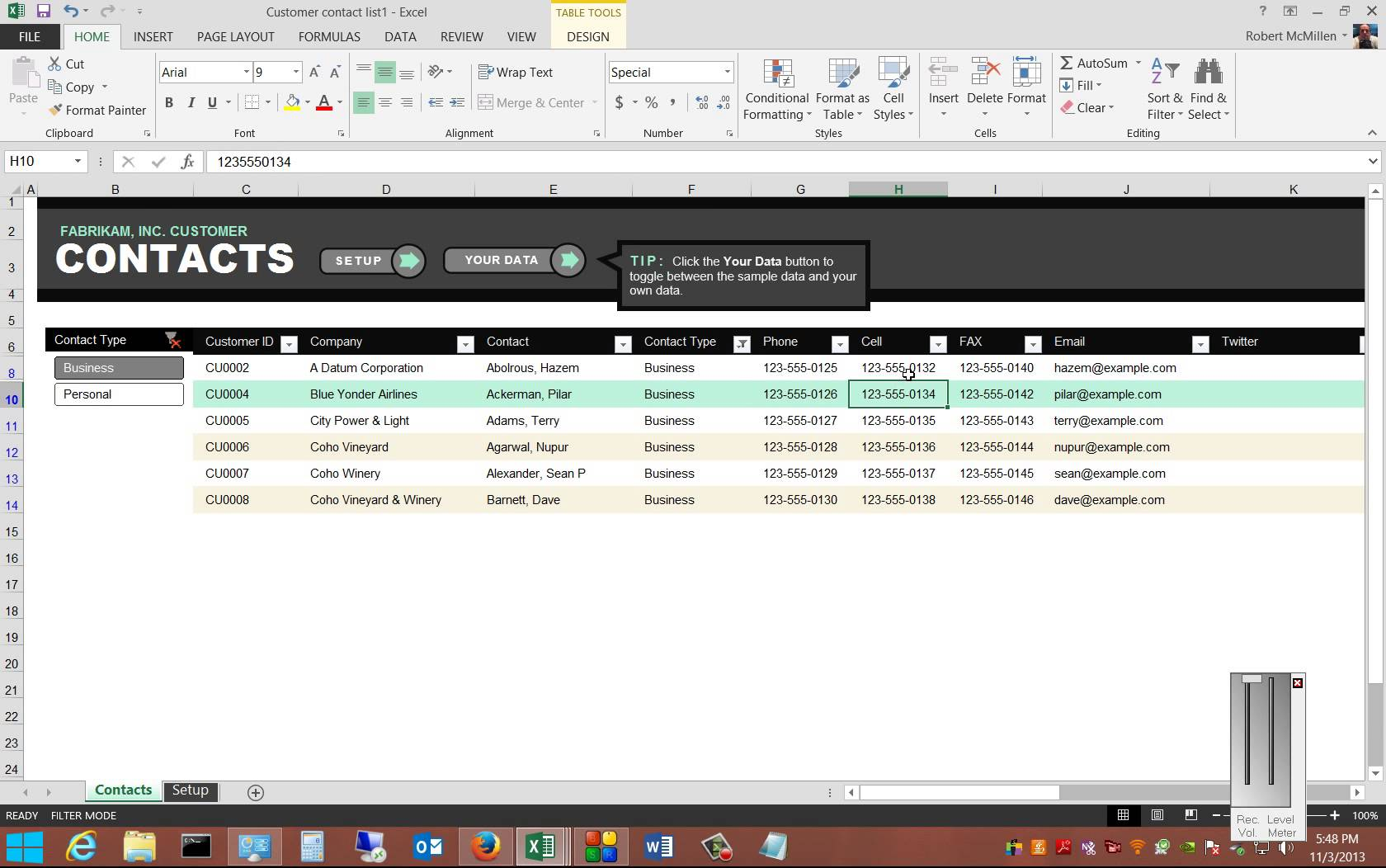 employee relations tracking spreadsheet free