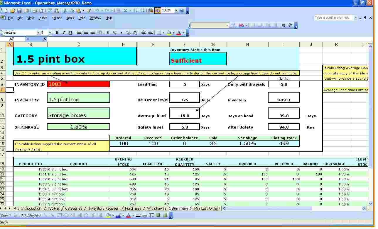 equipment tracking spreadsheet template download