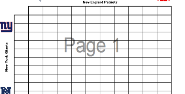 football squares template excel - LAOBING KAISUO