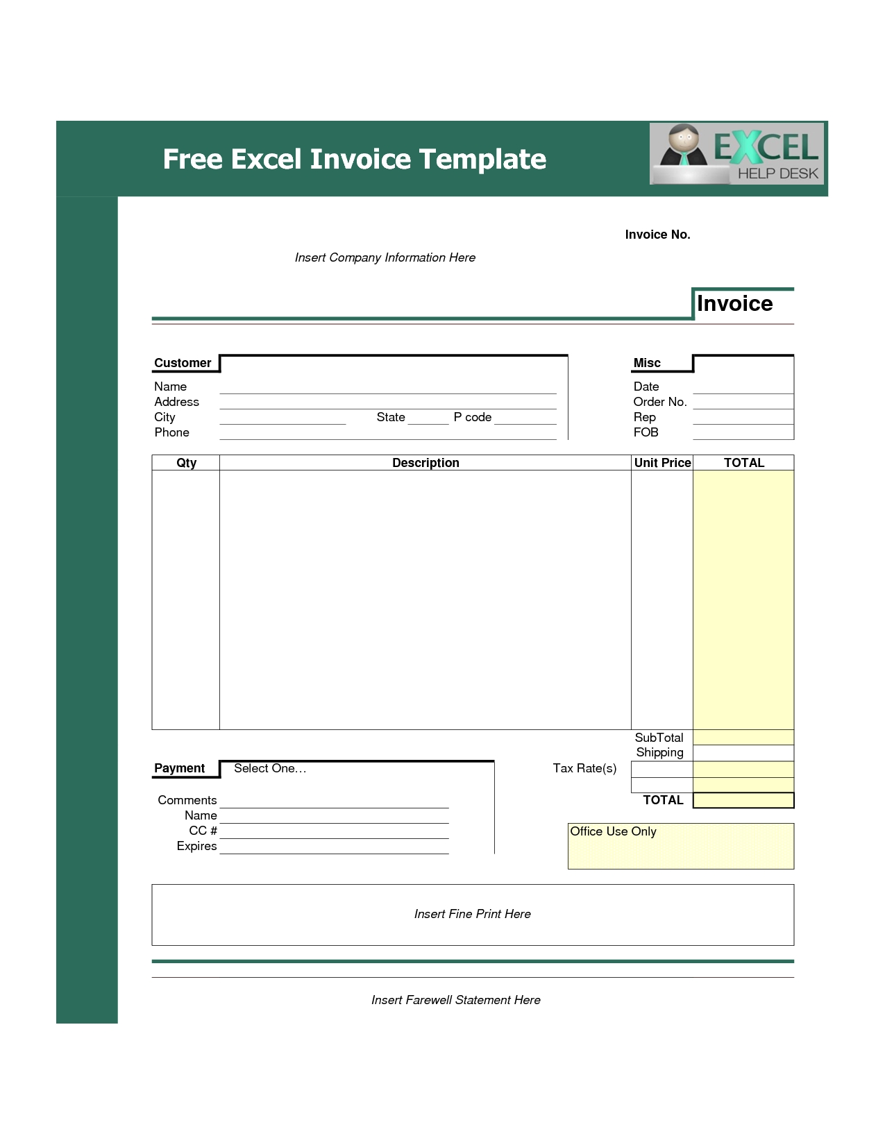 free Excel Spreadsheet For Mac Free Download