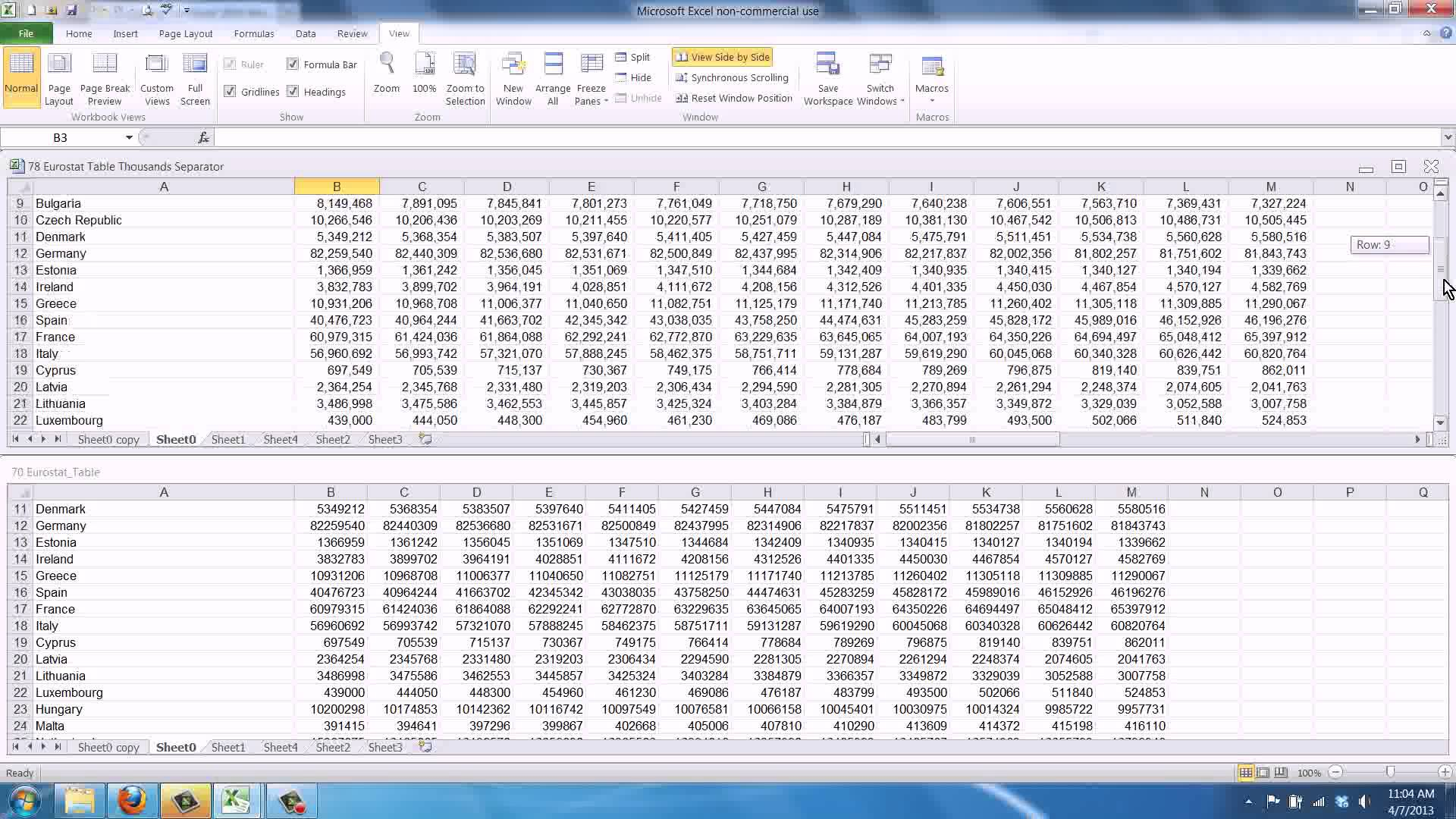 free compare two excel spreadsheets for differences