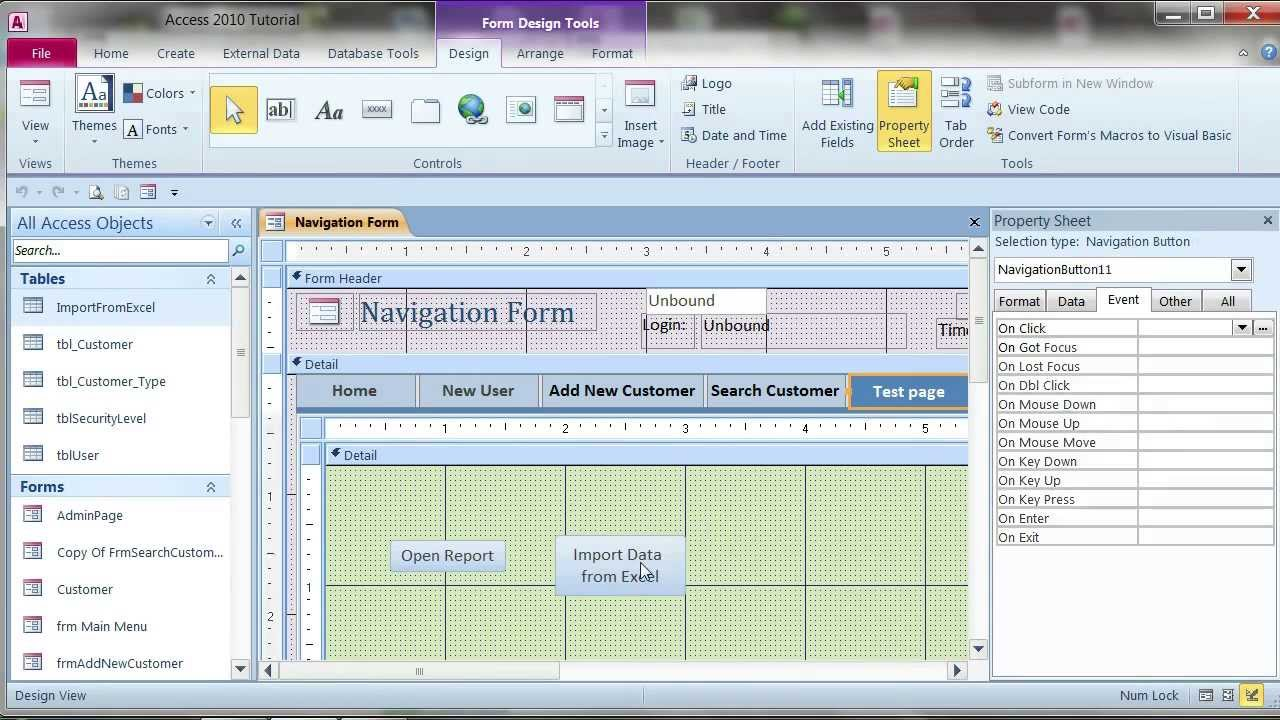 free convert excel spreadsheet to access database 2010