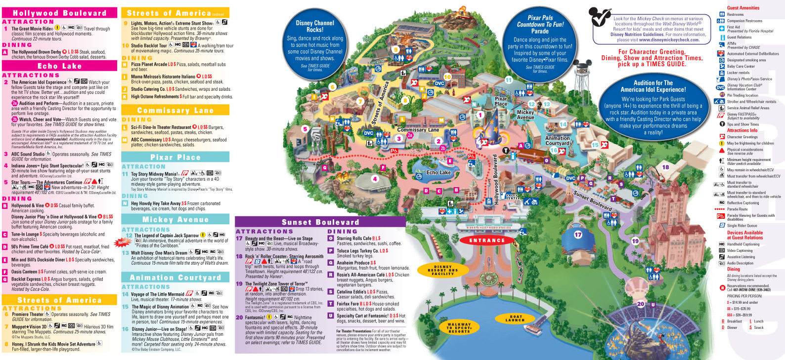free disney itinerary planner