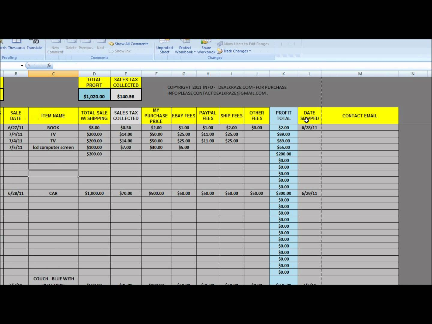 free download ebay inventory spreadsheet templates