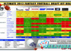free fantasy football draft sheet template