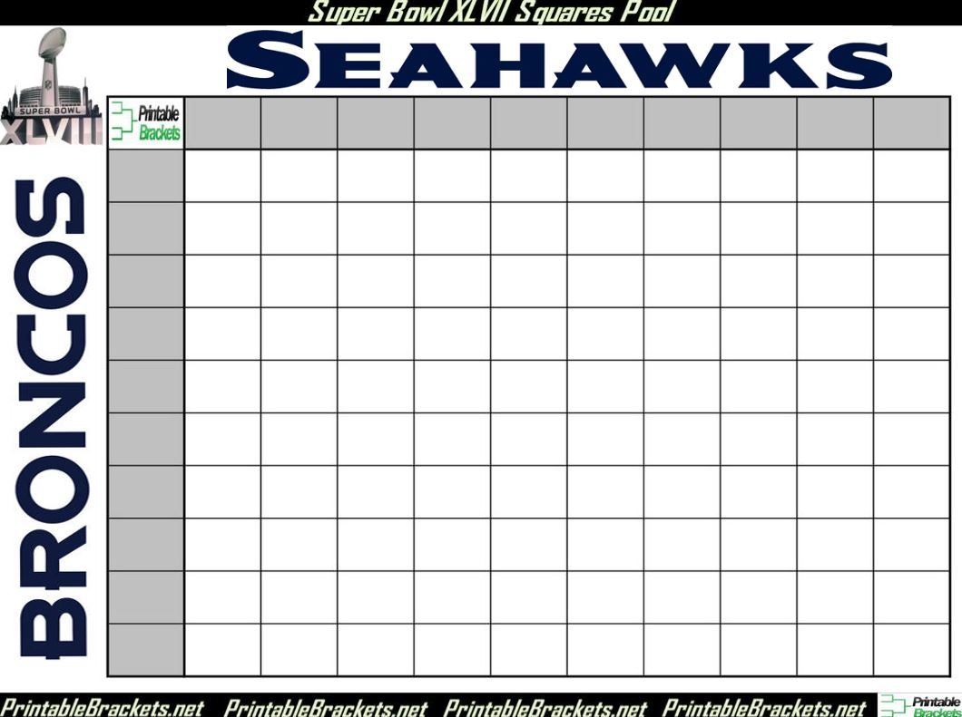 free football squares template download