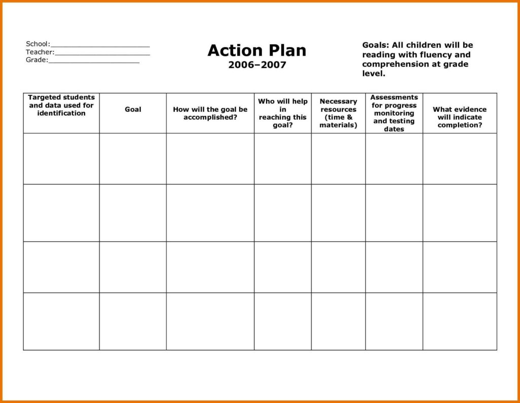 free nonprofit business plan template