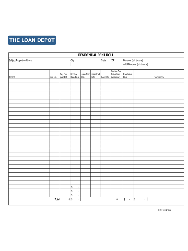 free rent roll spreadsheet temaplates download