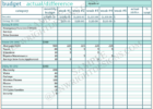 free sample household budget spreadsheet download