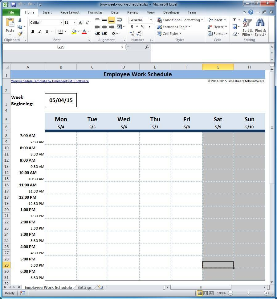 free schedule of values example download
