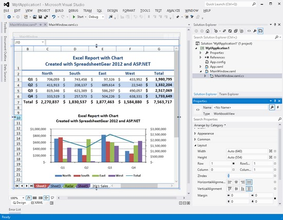 free spreadsheet for windows 7