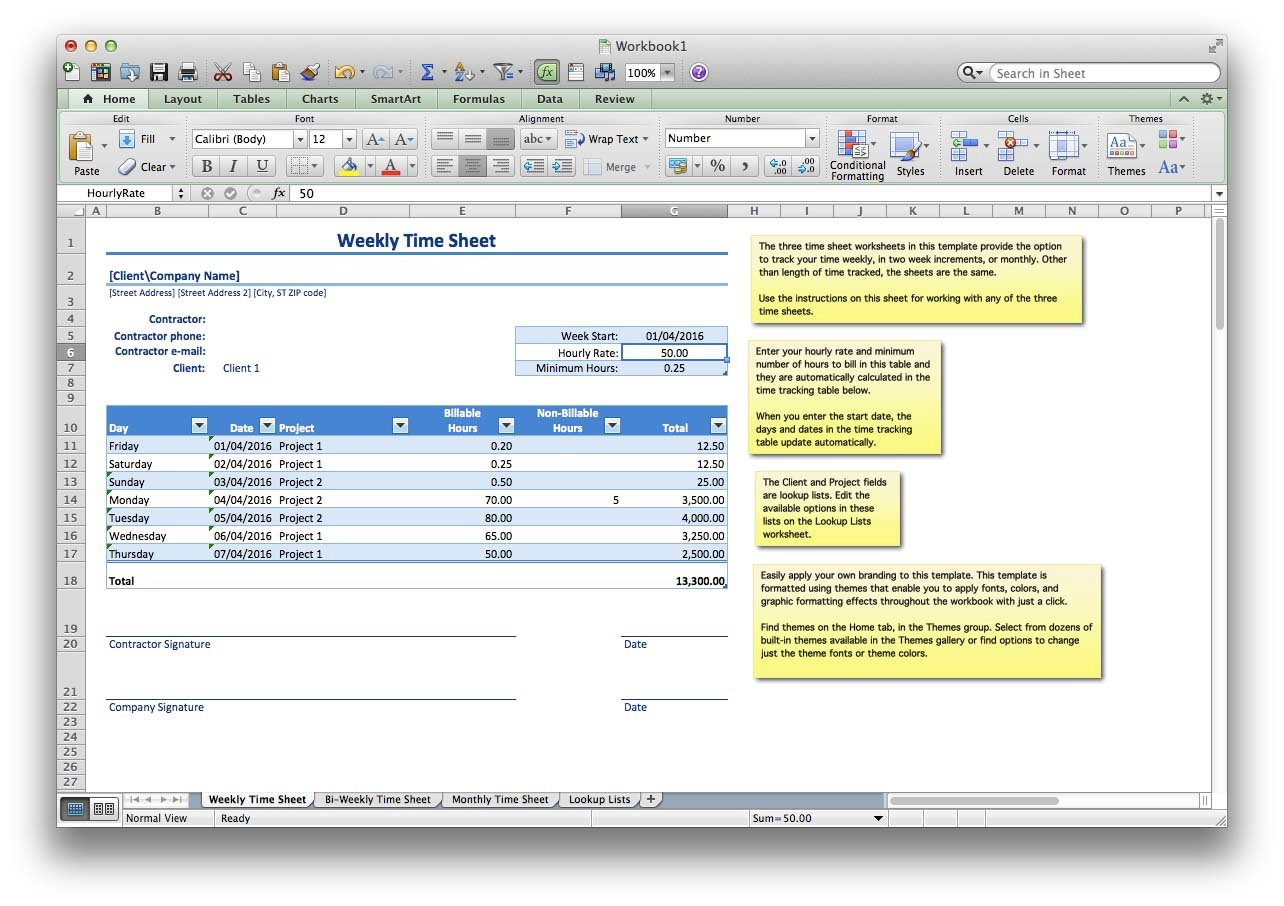 free spreadsheet program for mac download
