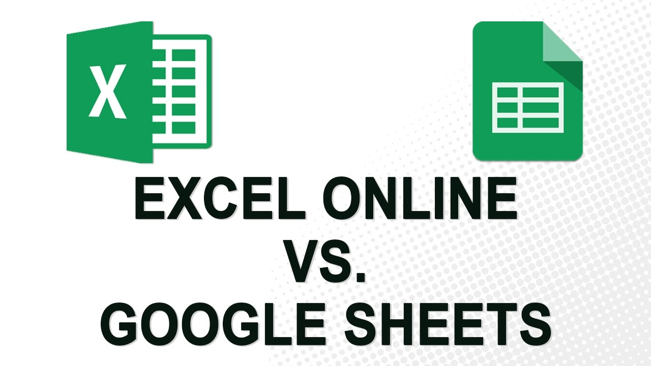 free template Google Spreadsheet Vs Excel